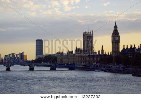 view on House of Parliament