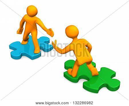 2 Manikins 2 Puzzles