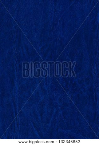 Blue leatherette texture useful as a background