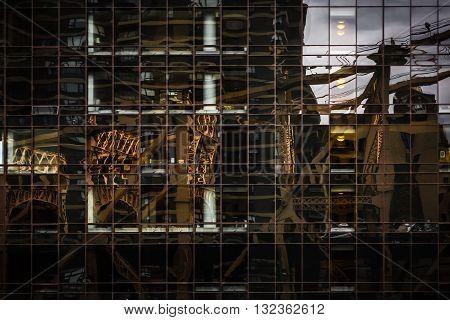 Ed Koch Queensboro Bridge Reflection