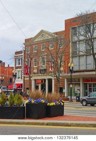 Harvard Cooperative Society In Cambridge In Massachusetts