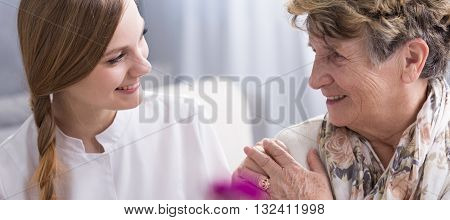 Young Woman And Her Patient