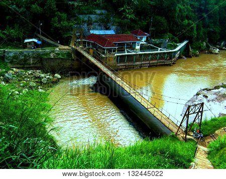 PLTA Ubrug UBP Saguling , Sukabumi West Java Indonesia