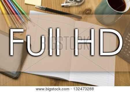 Full Hd - Business Concept With Text