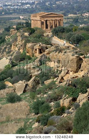 Agrigento, Valley of Temples, Sicily, Italy