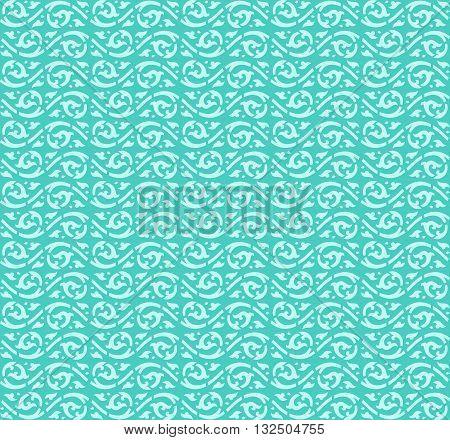Water wave pattern background vector design (Lai thai)