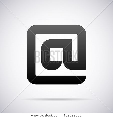 Logo for letter A design template vector illustration