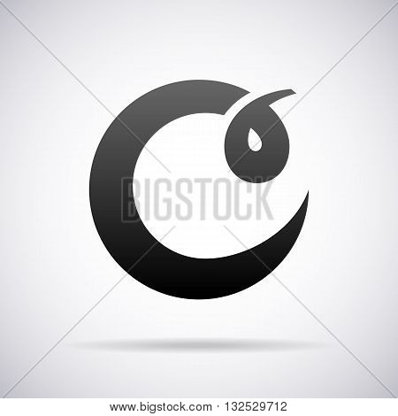 Logo for letter C design template vector illustration