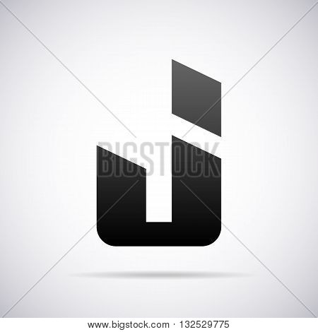 Logo for letter J design template vector illustration