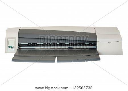 image of Inkjet printer isolated on white background