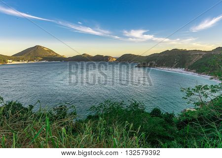 Landscapes And Crystalline Turquoise Beaches Of Pontal Do Atalaia