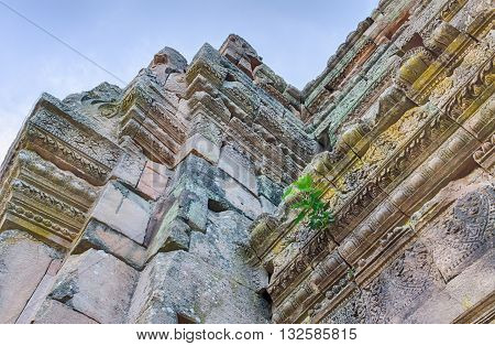 Phanom Rung Historical Park in Buriram Thailand