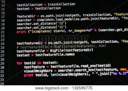 Computer Language Source Code