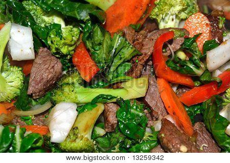 Beef Stirfry