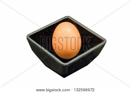 An egg is the organic vessel containing the zygote in which an animal embryo develops until it can survive on its own