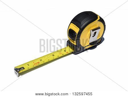 tape measure with write background in my photostock
