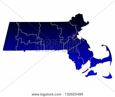 Map Of Massachusetts