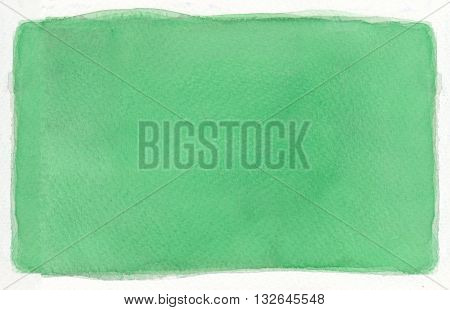 simple flat paint green tones abstract watercolor background