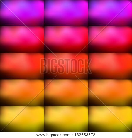 Abstract background. Seamless pattern. Bright and colorful rectangular bulges. Vector illustration eps10