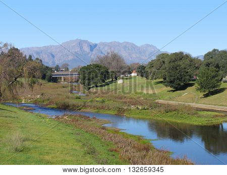 Berg River, Paarl, Cape Town South Africa