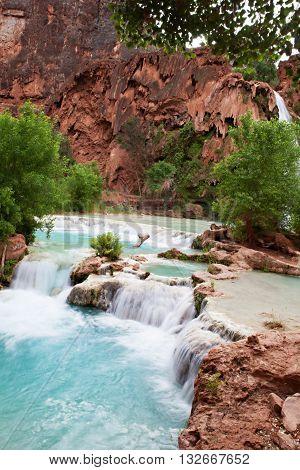 Havasupai Waterfalls
