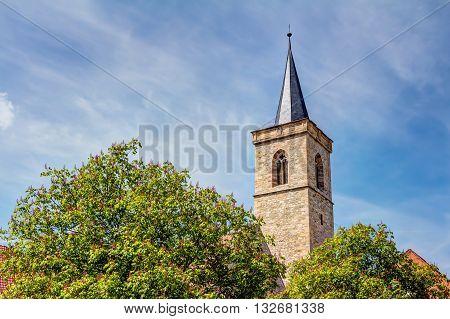 Saint Giles Church In Erfurt