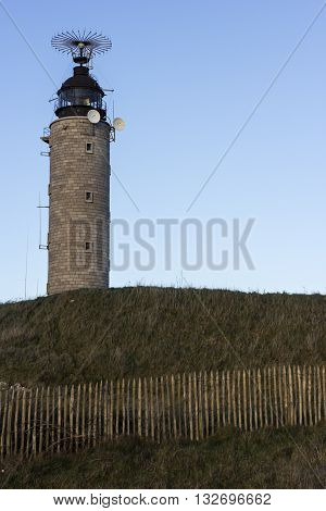Cap Gris Nez Lighthouse in France in Europe