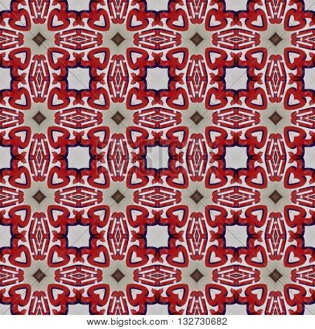 art grunge red seamless abstract pattern illustration background