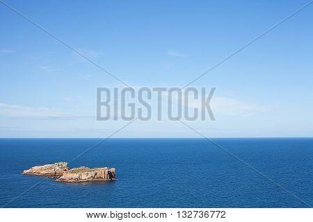Outcrops In Ocean