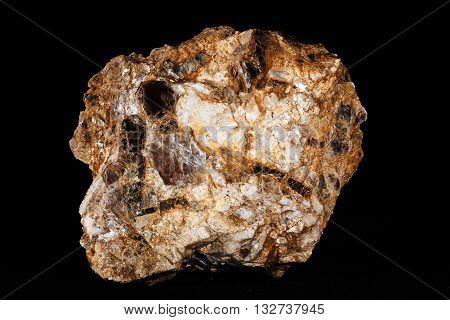 Pegmatite, Muscovite And Biotite Granite