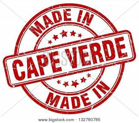 made in Cape Verde red round vintage stamp.Cape Verde stamp.Cape Verde seal.Cape Verde tag.Cape Verde.Cape Verde sign.Cape.Verde.Cape Verde label.stamp.made.in.made in.