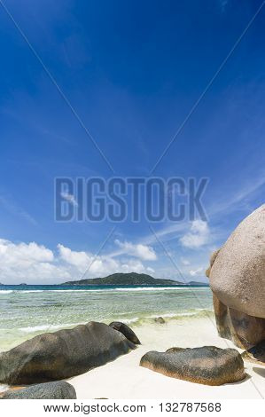 Boulders At Anse Grosse Roche, La Digue, Seychelles