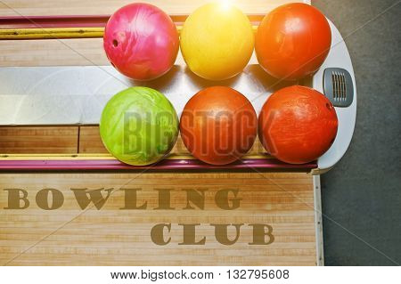 The Word Bowling Club Background Bowling Balls