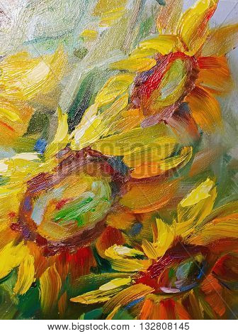 Texture Oil Painting, Flowers, Art, Painted Color Image, Paint, Wtexture Of Oil Paintings, Flowers,