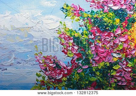 Texture Oil Painting, Flowers, Art, Painted Color Image, Paint, Wallpaper And Backgrounds, Canvas, A