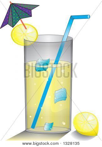 Lemonade Drink With Lemon