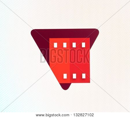 MONTREAL CANADA - MAY 23 2016 : Google Play Movies logo on a screen of a cellphone. Google Play Movies is a video streaming service and online movies locker operated by Google.