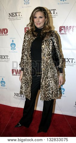 Daisy Fuentes at the 2nd Semi Annual Fashion Wire Daily's event NEXT at Mondrian Hotel's SkyBar in West Hollywood, USA on October 25, 2004.