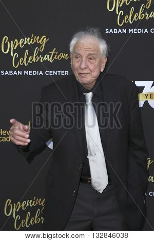 LOS ANGELES - JUN 2:  Garry Marshall at the Television Academy 70th Anniversary Gala at the Saban Theater on June 2, 2016 in North Hollywood, CA