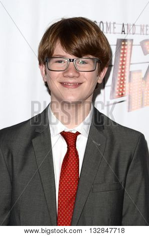LOS ANGELES - MAY 31:  Aidan Minor at the 42nd Street Play Opening at the Pantages Theater on May 31, 2016 in Los Angeles, CA