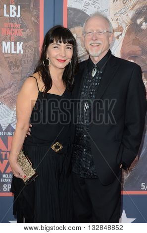 LOS ANGELES - MAY 10:  Robert Schenkkan at the All The Way LA Premeire Screening at the Paramount Studios on May 10, 2016 in Los Angeles, CA