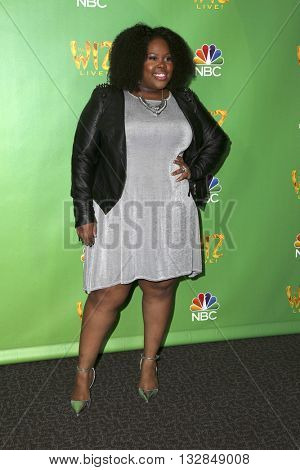 LAS VEGAS - JUN 1:  Amber RIley at the Television Academy Event For NBC's The Wiz Live! at the Directors Guild of America on June 1, 2016 in West Hollywood, CA