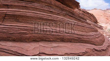 Layers Of Sedimentary Rock
