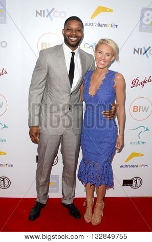 LOS ANGELES - JUN 1:  Kerry Rhodes, Nicky Whelan at the 2016 Australians In Film Heath Ledger Scholarship Dinner at the Mr. C on June 1, 2016 in Beverly Hills, CA