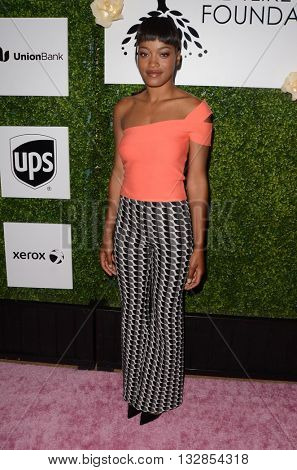 LOS ANGELES - JUN 4:  Keke Palmer at the 2016 Ladylike Women of Excellence Awards Gala at the Beverly Hilton Hotel on June 4, 2016 in Beverly Hills, CA