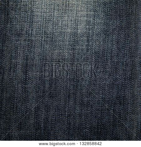 Ole black Denim Texture abstract for Background