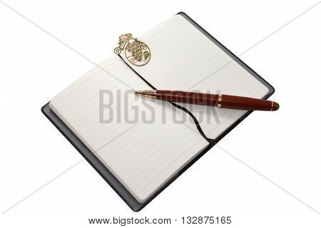 A notebook (notepad writing pad drawing pad legal pad) is a small book or binder of paper pages often ruled used for purposes such as recording notes or memoranda writing drawing or scrapbooking.