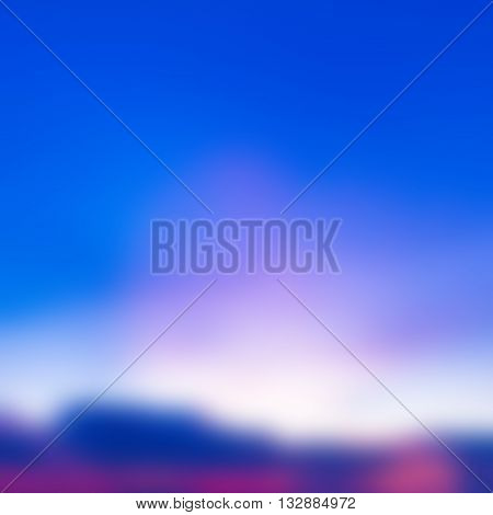 abstract background of the beautiful sunset spectrum
