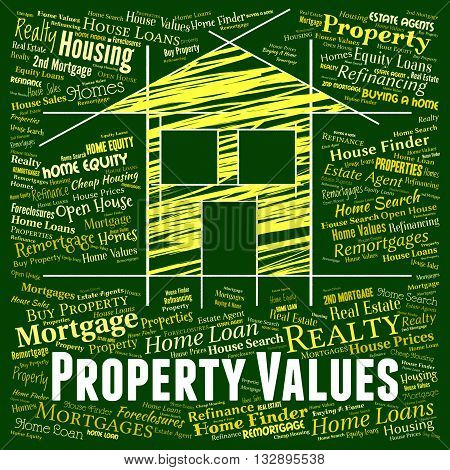 Property Values Shows Current Price And Apartment