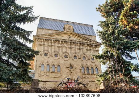 Kislovodsk, Russia - 1 March, Philharmonic House was built in 1895, 1 March, 2016. Resort zone Mineral Waters, Krasnodar region.